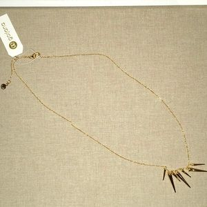 "Gorjana ""Cersei"" Spiked Pendant Necklace"